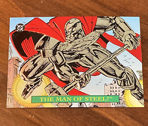 SUPERMAN BLOODLINES 1993 Skybox DC Comics Embossed Foil S1 MAN OF STEEL