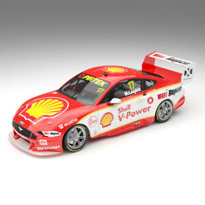 2019 Shell V-Power Racing #17 Ford Mustang GT Scott McLaughlin 1:18 Authentic