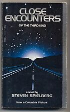 Close Encounters Steven Spielberg 1977 First Printing Fold out cover