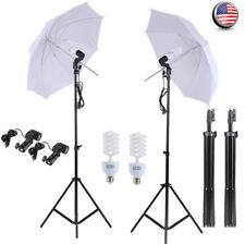 2* Photography Lighting Softbox Stand Photo Equipment Soft Studio Light Kit R4H6