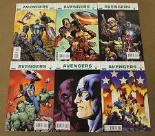Ultimate Avengers (2009 Marvel) #1-6 Lot Of (6)