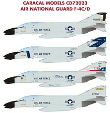Caracal Models 1/72 Air National Guard F-4C/D Phantom # 72023