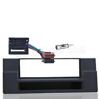 Auto Radio Blende Set 1 DIN BMW 5er E39 Ablagefach MOST Adapter ISO Fach Kabel
