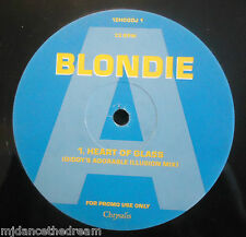 "BLONDIE ~ Heart Of Glass ~ 12"" Single PROMO"