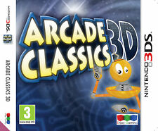 Arcade Classics 3D - Nintendo 3DS Brand New and Factory Sealed FREE P&P in UK