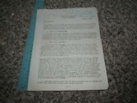 WWII Fort Knox Kentucky Office of the Surgeon 1942 Document Medical Diagnosis