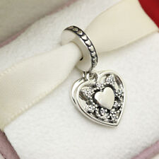 * Authentic Pandora My Wife Always Dangle 792099CZ Love Valentines Day Gift