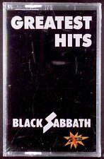 Black Sabbath – Greatest Hits LP CASSETTE POWER SOUND SEALED OOP