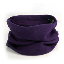 Unisex Fleece Snood Scarf Ski Balaclava Winter Neck Warmer Face Mask Beanie Hats