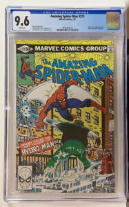Amazing Spider-Man #212   CGC 9.6 White pgs  origin & 1st appearance Hydro Man!