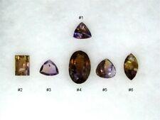 Old Mine Cut Ametrine from Bolivia, 6 stones, 179.81 ctw