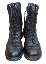 Belgian Army Military Combat Paratrooper Boots, Rugak Grade A Size EU 43