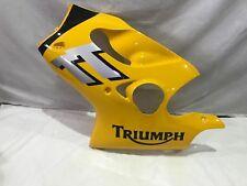 TRIUMPH TT600 GENUINE RACING YELLOW LEFT FAIRING T2304620-FA
