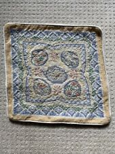 Vintage needlepoint tapestry cushion cover Ehrman Kaffe Fassett