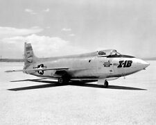 X-1B ON LAKEBED BELL X-1 11x14 SILVER HALIDE PHOTO PRINT