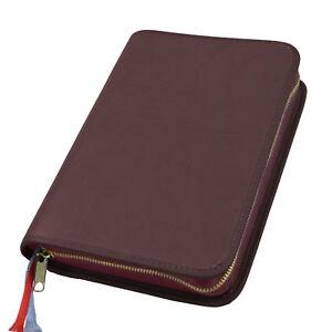Gotteslobhülle Gotteslob Hülle Leder braun für Gebetbuch Buchhülle Schutzhülle