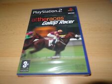 Gallop Racer at the races ps2 playstation 2 uk pal version NEW SEALED