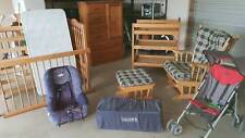 Baby package, cot, tall boy, change table, rocking chair & stool, stroller&more.