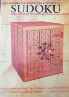 Unlocking the Strategies & Secrets of SUDOKU in 2 Hours - (DVD, 2008) - NEW
