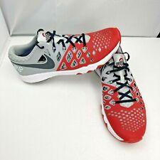 Nike Train Speed 4 AMP Ohio State Buckeyes Shoes 844102-603 Men's Sz 13 RARE