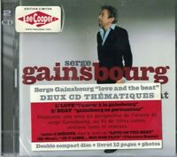 COFFRET 2 CD SERGE GAINSBOURG LOVE AND THE BEAT LEECOOPER