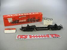 AM358-0,5# Märklin/Marklin H0/AC 4618 Tiefladewagen m. Bahia-Kiste DB, OVP