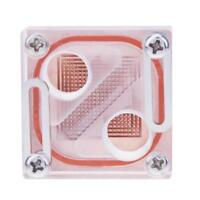 "G 1/4"" Acrylic Transparent Northbridge Waterblock PC CPU Water Liquid Cooling"