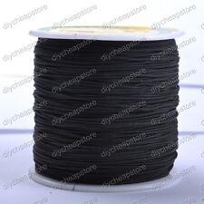 1Roll 100Yards 1MM Chinese Knot Macrame Bracelets Braided Nylon Cord Thread