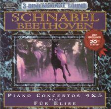 Beethoven - Piano concertos 4 & 5 (Schnabel) CD