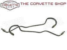 Corvette Rear Caliper Brake Line Set Stainless Steel w/ Armour 1965-1982 1761