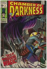Chamber of Darkness #1 (Marvel 1969) VF-: story by John Buscema