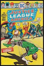JUSTICE LEAGUE OF AMERICA #127 JLA HIGH GRADE Superman Evel Knievel Ad Feb 1976
