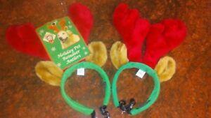 dog antlers, pet antlers, christmas