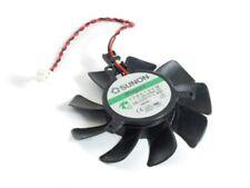 SUNON 2-pin 55mm Lüfter Cooler DC12V 1.4W ATI Video Card Cooling Fan 126010VM