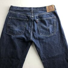 Vtg Levi's Big E LVC Redline Selvedge 501XX Denim Jeans Mens 38x34 1955 Model