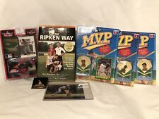 Cal Ripken Jr. Signed Autographed Book And Pin Lot