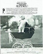 Publicité Advertising 067  1965   Prénatal  équipement bébé l'école des mamans