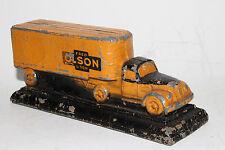 1940's Diamond T? Pot Metal Promo Semi Truck, Original