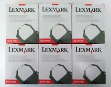 (6-Pack) Original Lexmark Ink Ribbon 3070166 11A3540 1040930 2380 2480 2580 2590