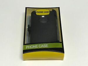 For Apple iPhone 8/8 Plus Case (With Belt Clip Holster ) BLACK Heavy Duty