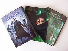 Matrix Trilogy DVD Lot