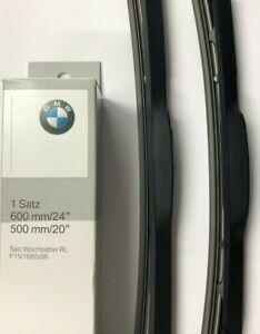 Genuine BMW X5 X6 Front Wiper Blade Set 61610039699 F15/F16/F85/F86