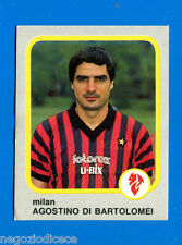 CALCIO FLASH '86 Lampo - Figurina-Sticker n. 153 - A. DI BARTOLOMEI -MILAN-New