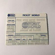 Elton John Pine Knob Music Theatre Concert Ticket Stub Vintage August 17 1986