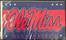 NEW Ole Miss FLAG University of Mississippi 3' x 5' NCAA  with grommets