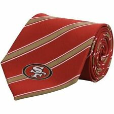 San Francisco 49ers NFL Striped Woven Polyester Neck Tie 4bb92b73c