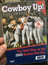 Cowboy Up - The Wild Ride Of The 2003 Boston Red Sox region 1 DVD (baseball)