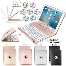 "Cooper Notekeee F8S Backlit Keyboard Case Smart Cover For Apple iPad Air 2  9.7"""