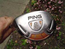 Left-Handed Ping G10 21* Hybrid Golf Club TFC 129 R-Flex Graphite Dri-Tac Grip