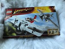 Lego INDIANA JONES LAST CRUSADE 7198 - FIGHTER AIRPLANE ATTACK-small dent box